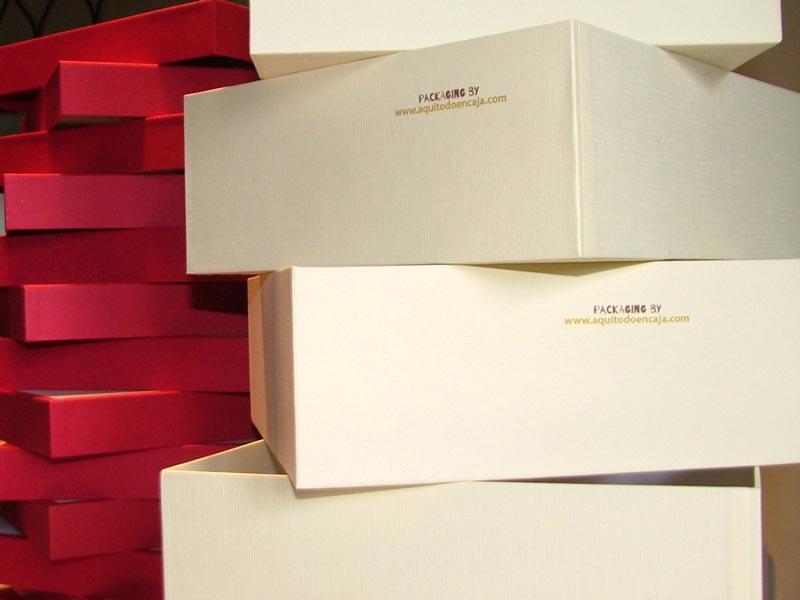 cajas de cartón personalizadas